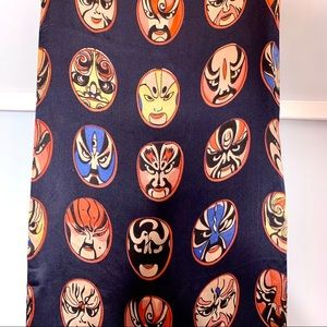 Other - Silk Scarf Chinese Beijing Opera Masks